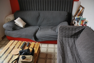 sofas, small room